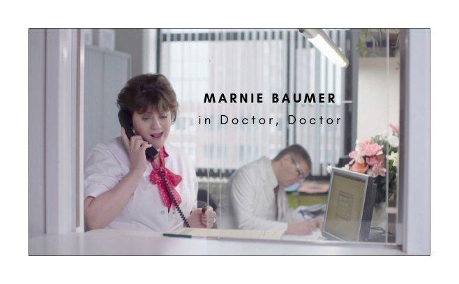Marnie Baumer website Doctor Doctor banner